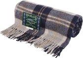 Highland Tartan Tweeds of Scotland Bannockbane Silver