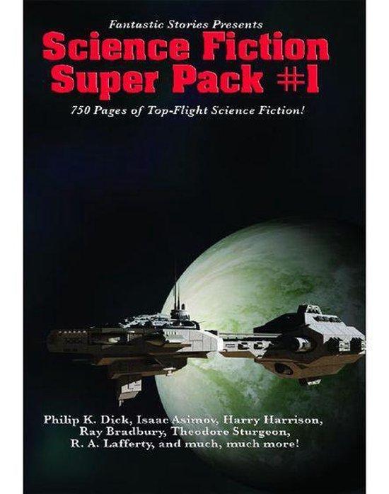 Boek cover Fantastic Stories Presents: Science Fiction Super Pack #1 van Philip K. Dick (Onbekend)
