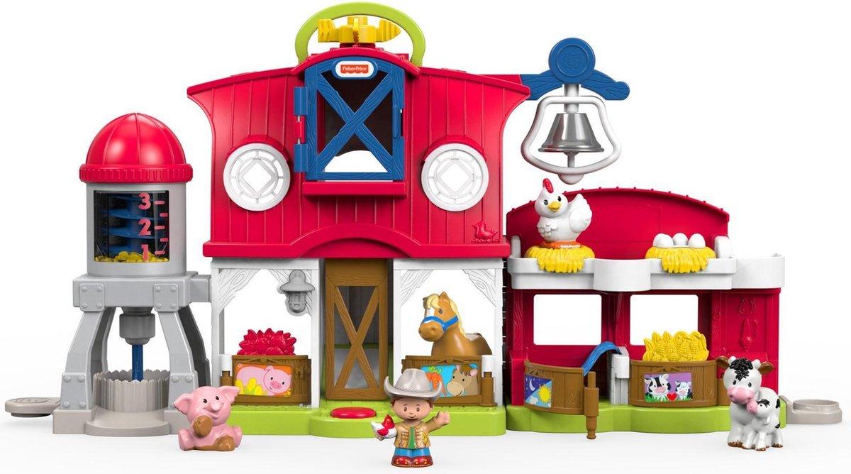 Fisher-Price Little People Dierenverzorgingsboerderij - Speelfigurenset