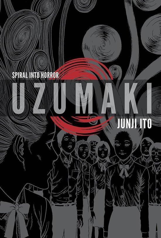 Boek cover Uzumaki (3-in-1 Deluxe Edition) van Junji Ito (Hardcover)