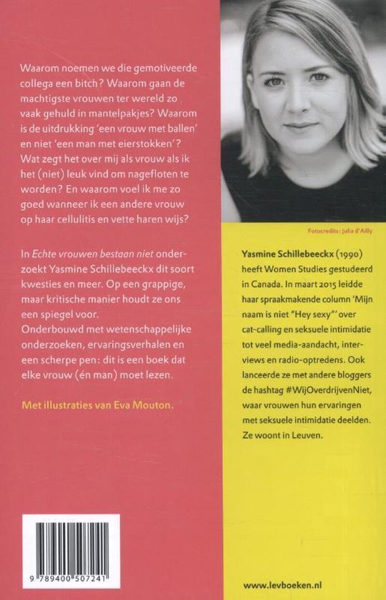 Echte vrouwen bestaan niet - Yasmine Schillebeeckx |