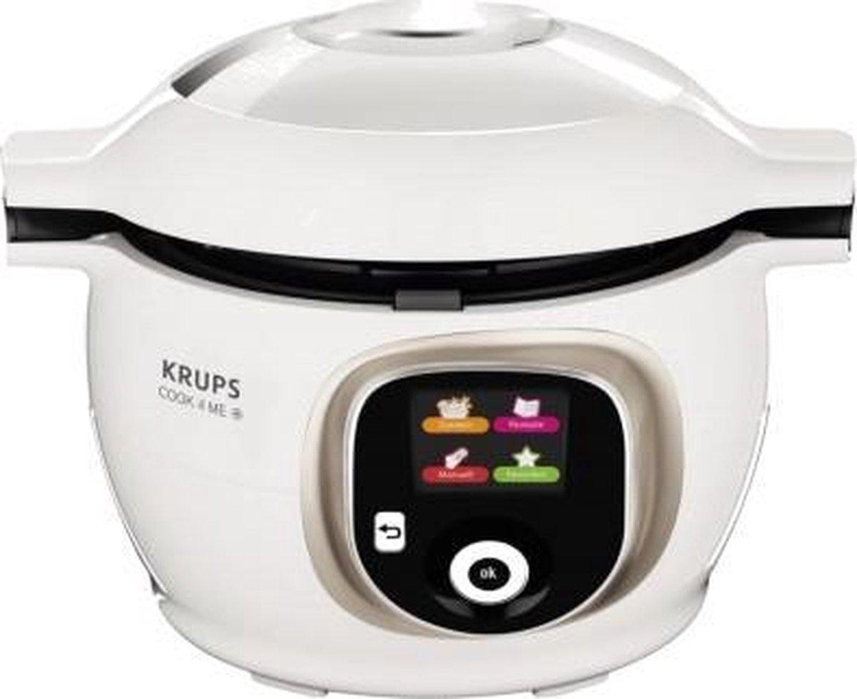 Krups Multicooker COOK4ME+ CZ7101 wit/zilverkleur online kopen