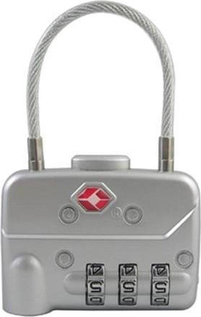 TSA slot met combinatieslot en kabel - Merkloos