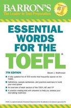 Boek cover Essential Words for the TOEFL van Steven J. Matthiesen
