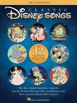 Classic Disney Songs - Big Note Piano Songbook