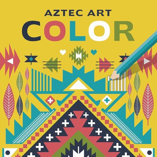 Deltas Kleurboek Aztec Art Color 22 Cm - none  