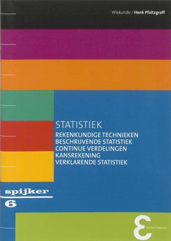 Spijkerreeks 6 - Statistiek - H. Pfaltzgraff  