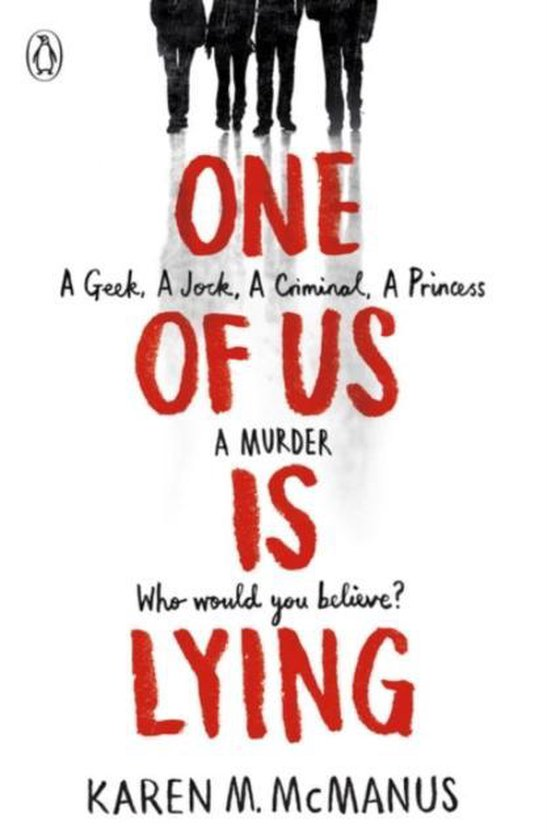 Boek cover One Of Us Is Lying van Karen M. Mcmanus (Paperback)