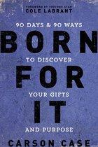 Boek cover Born For It van Carson Case