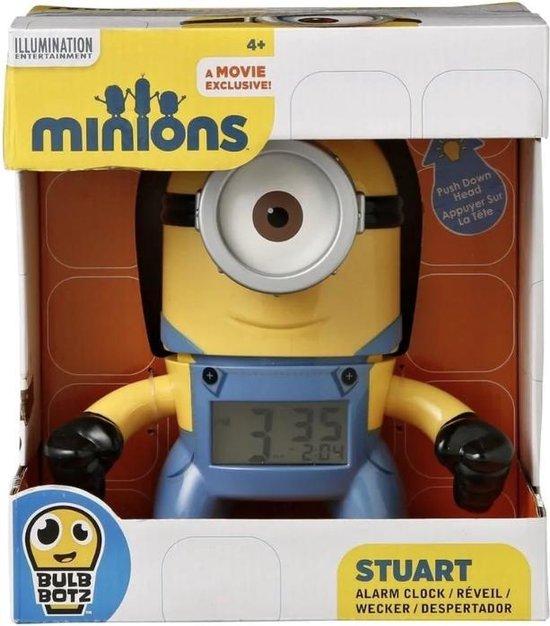 Minions Alarm Klok Stuart - Despicable Me - digitaal minion wekker met lamp