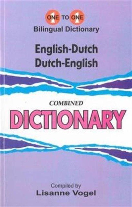 English-dutch & dutch-english one-to-one dictionary. script & roman - L Vogel |