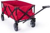 Campart Travel HC-0911 Opvouwbare bolderwagen – 70 kg draagvermogen – Rood