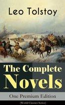 Boek cover The Complete Novels of Leo Tolstoy in One Premium Edition (World Classics Series) van Lev Tolstoj (Onbekend)
