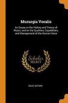 Musurgia Vocalis