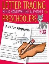 Letter Tracing Book Handwriting Alphabet for Preschoolers Fox