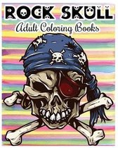 Rock Skull Adult Coloring Books
