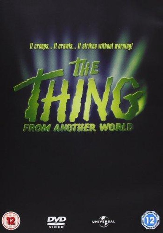 Cover van de film 'Thing From Another World'