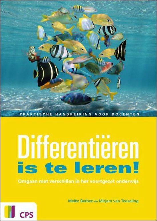 Boek cover Differentieren is te leren! van Meike Berben (Paperback)
