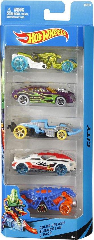 Afbeelding van Hot Wheels Cadeauset met 5 Autos speelgoed