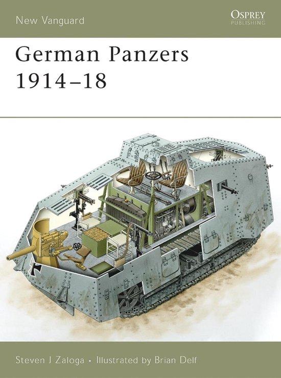 Boek cover German Panzers 1914–18 van Steven J. Zaloga (Onbekend)