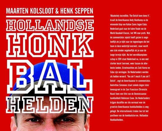 Boek cover Hollandse honkbalhelden van Maarten Kolsloot (Paperback)