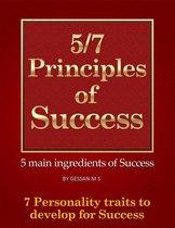 5/7 Principles of Success