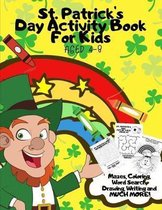 St. Patrick's Day Activity Book for Kids Aged 4-8