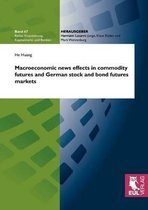 Macroeconomic News Effects in Commodity Futures and German Stock and Bond Futures Markets