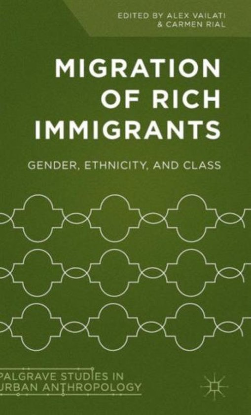 Boek cover Migration of Rich Immigrants van Alex Vailati