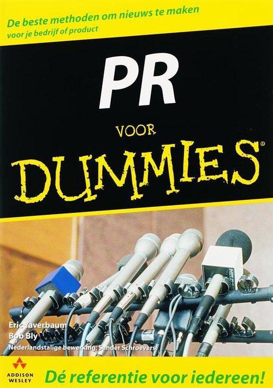 Voor Dummies - PR voor Dummies - E. Yaverbaum pdf epub