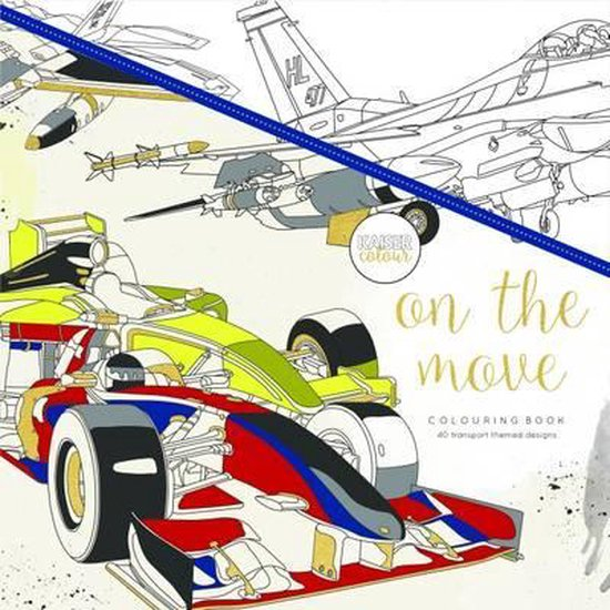 Kaisercraft Kleurboek voor Volwassenen - On the Move - Kaisercraft |