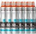L'Oréal Paris Men Expert Fresh Extreme Deodorant Spray - 6 x 150 ml - Voordeelverpakking