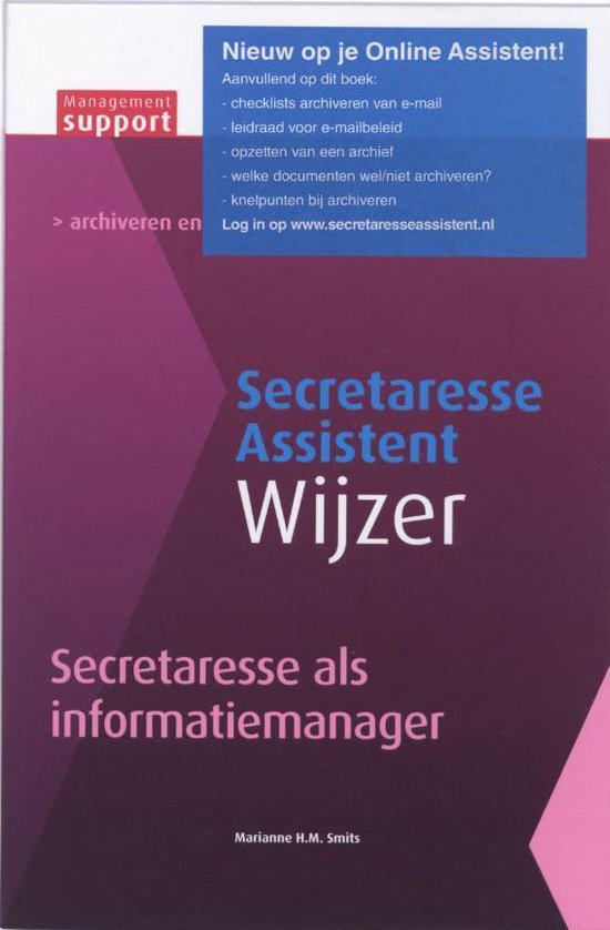 Secretaresse als informatiemanager - M.H.M. Smits |