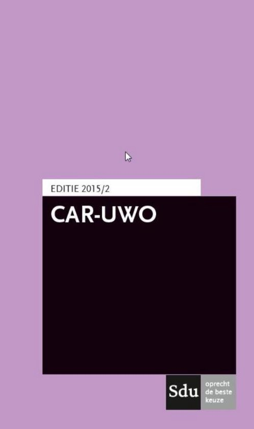 CAR-UWO 2015/2 - none |