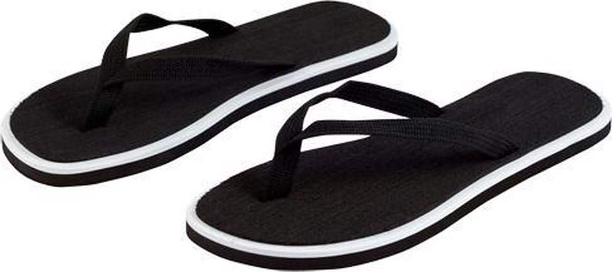Bellatio Basic - Slippers - Dames - Maat 36-38 - Zwart - Bellatio