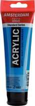 Amsterdam Standard Acrylverf 120ml 582 Mangaanblauw Phthalo
