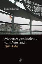 Boek cover Moderne geschiedenis van Duitsland van Frits Boterman