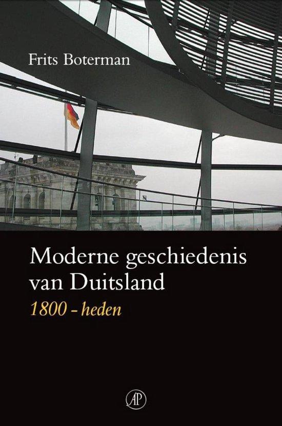 Moderne geschiedenis van Duitsland - Frits Boterman |
