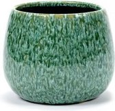 Serax Bloempot Sierpot Groen-Turquoise H14.5cm D 17.5cm