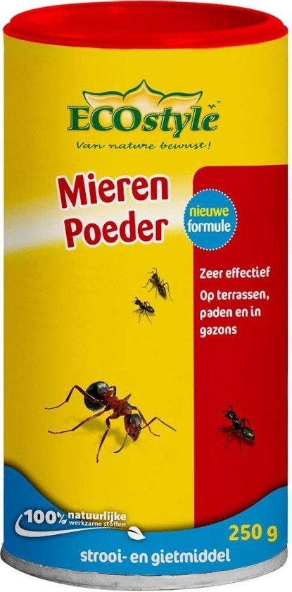 ECOstyle MierenPoeder - te strooien en te gieten tegen mieren - 250 g