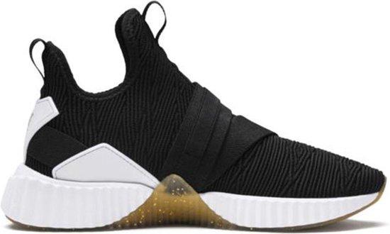 bol.com | Puma Sneakers DEFY MID VARSITY - Dames - Zwart ...