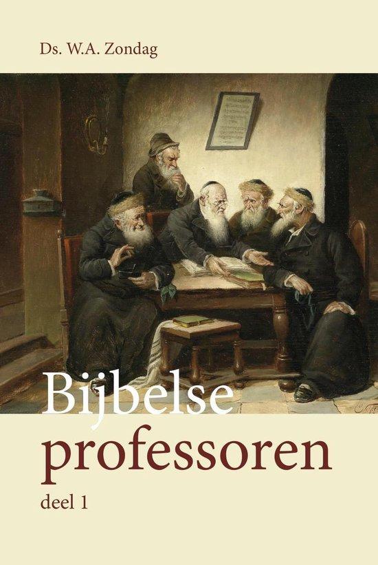 Bijbelse professoren - W.A. Zondag pdf epub