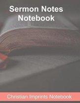 Sermon Notes Notebook