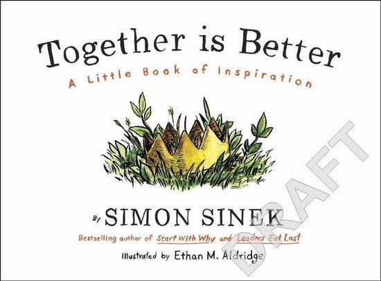 Boek cover Together is Better van Simon Sinek (Hardcover)