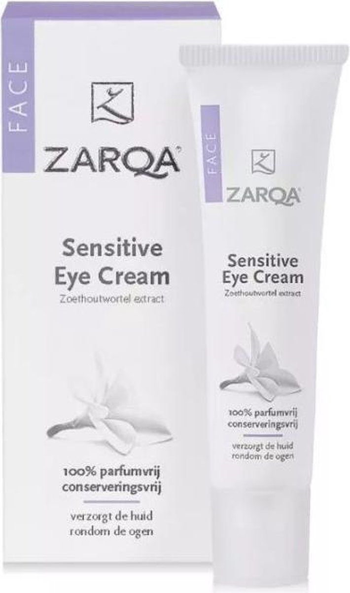 Zarqa Sensitive - 15 ml - Oogcrème - Zarqa