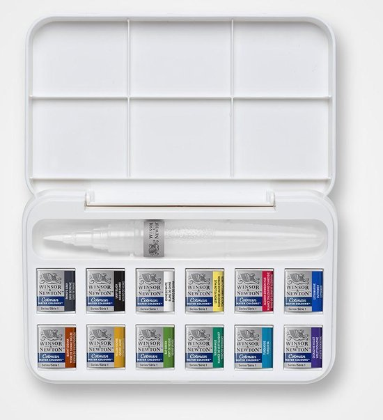 Brush Pen Set Aquarel Winsor & Newton Pocketbox
