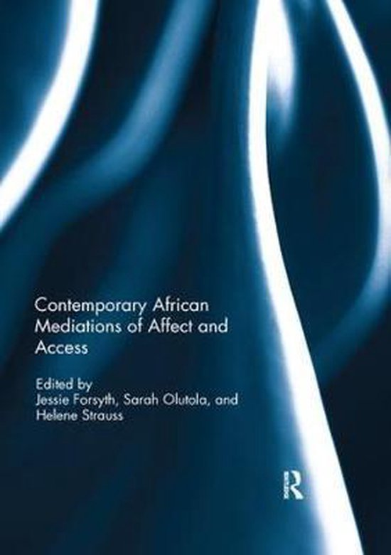 Boek cover Contemporary African Mediations of Affect and Access van  (Paperback)