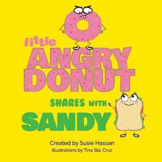 Little Angry Donut Shares with Sandy
