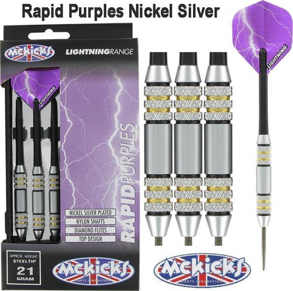 McKicks Rapid Purples dartpijlen - 24 gram