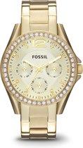 Fossil Goudkleurig Vrouwen Horloge ES3203